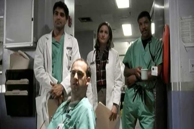 ER緊急救命室の初期メンバー