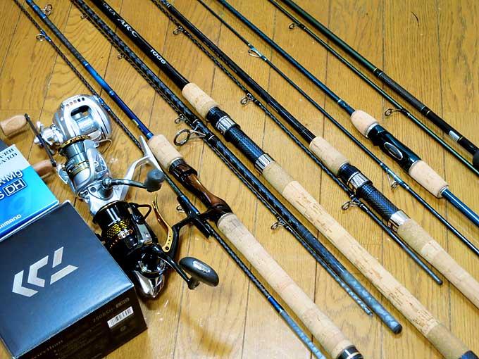 釣り具を売却