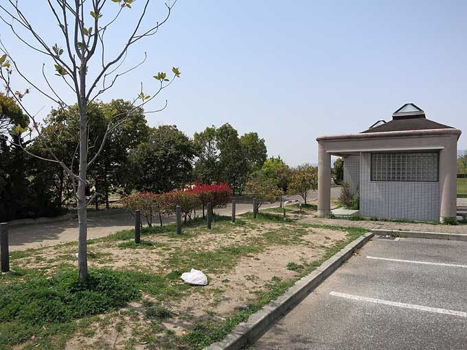 浜甲子園運動公園の駐車場