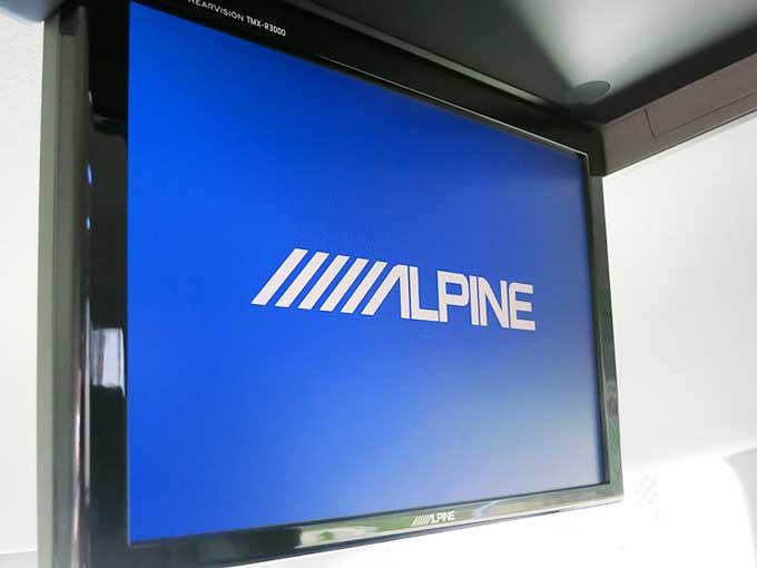 アルパイン 10.2型LED リアビジョン TMX-R3000B