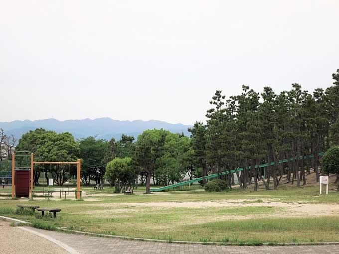 県立甲子園浜海浜公園の遊具