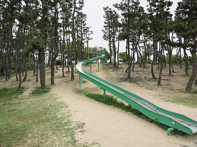 県立甲子園浜海浜公園・西宮のループスライダーの全貌