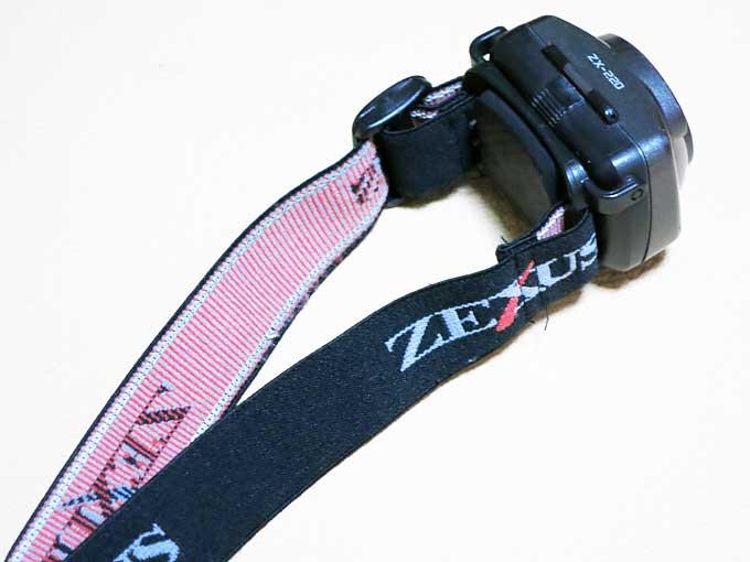 ZEXUS LED LIGHTベルトの洗浄