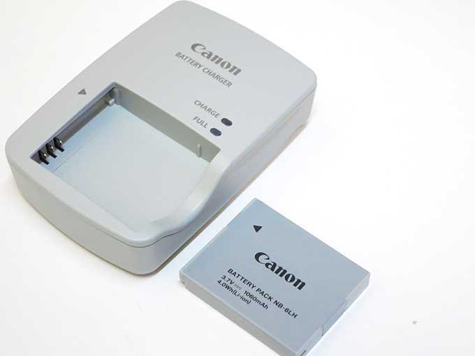Canon PowerShot S120 電池