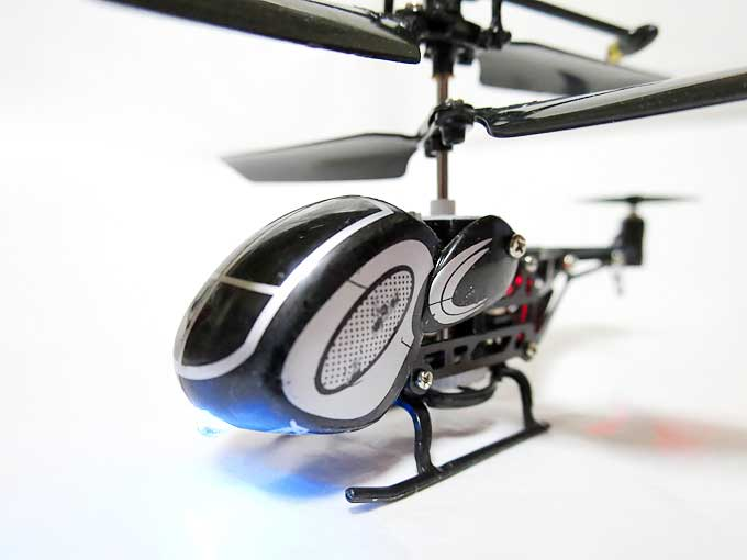 micro helicopter3 ライトアップ