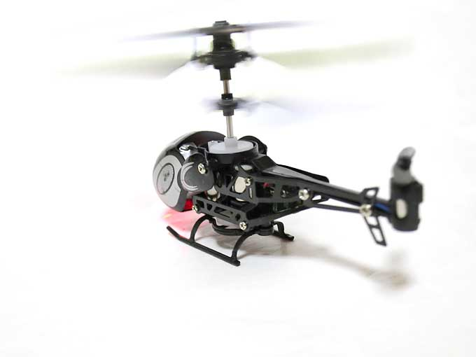 micro helicopter3 離陸