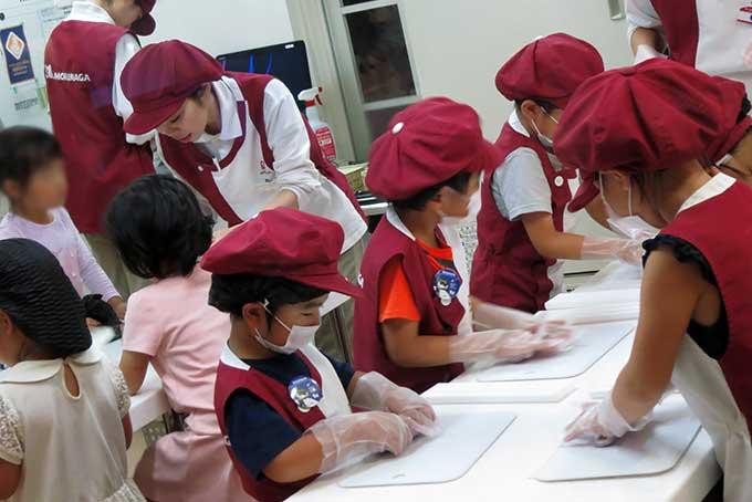 お菓子工場のアクティビティ