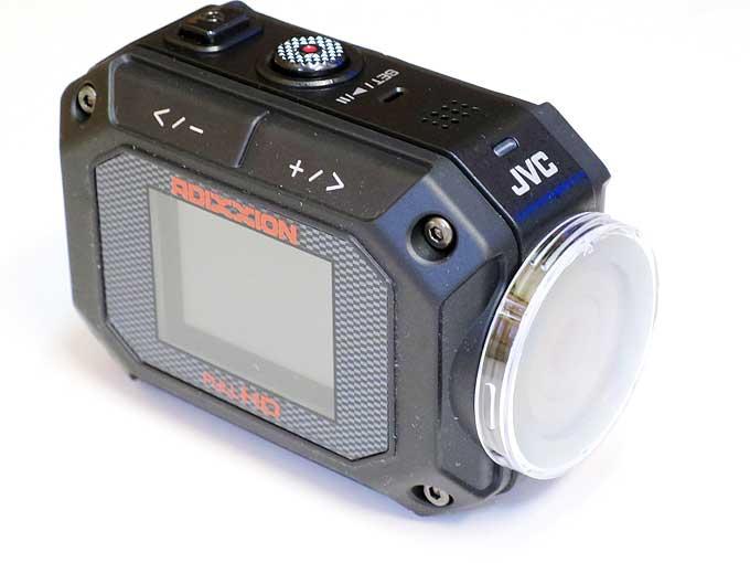 GC-XA2・レンズプロテクター取り付け完了