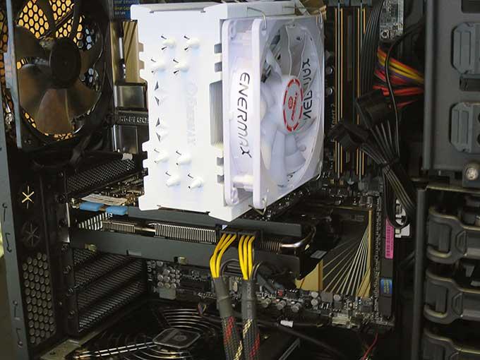 CPUクーラー ■ETS-T40-W