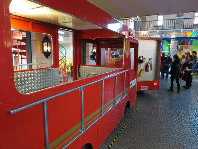 キッザニアの消防車