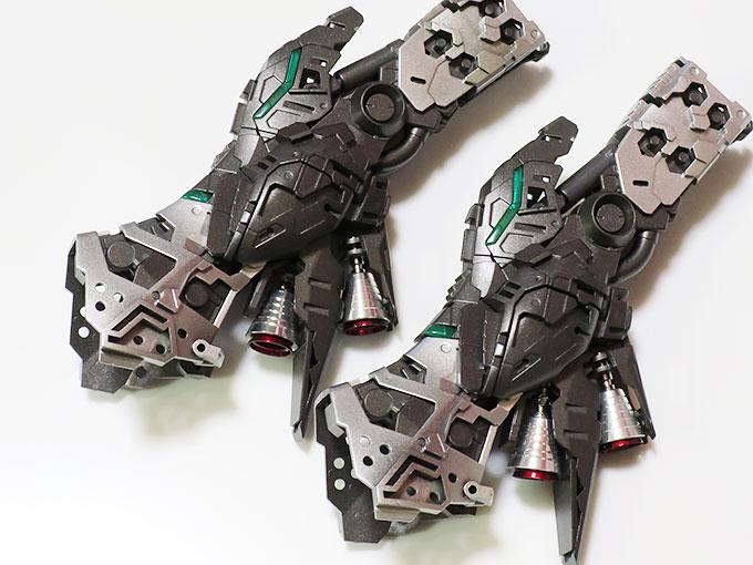 MG ニューガンダム Ver.ka 脚部バーニア