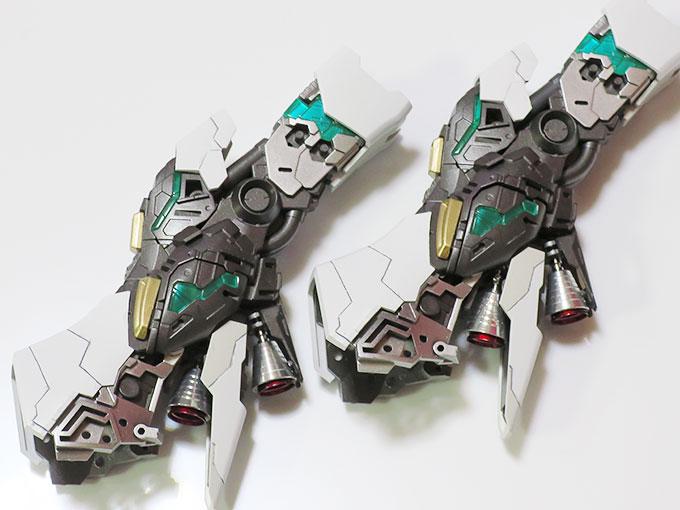 MG ニューガンダム Ver.ka 脚部装甲