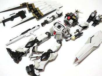 MG ニューガンダム Ver.ka 組み終わり