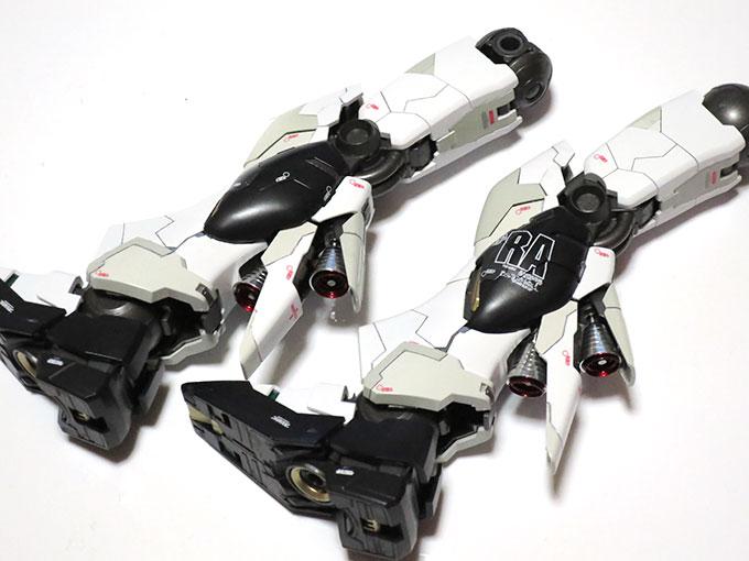MG ニューガンダム Ver.ka 脚部デカール