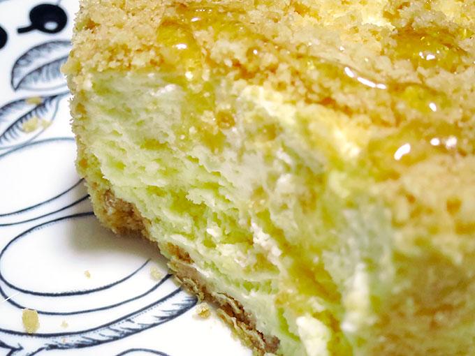 2層のチーズケーキ!