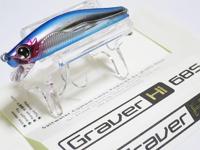 グラバーHi68sのパッケージ