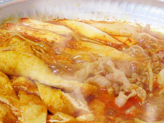赤から鍋スープで煮込むだけ