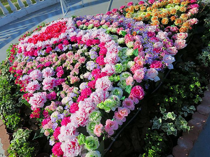 ハートのお花