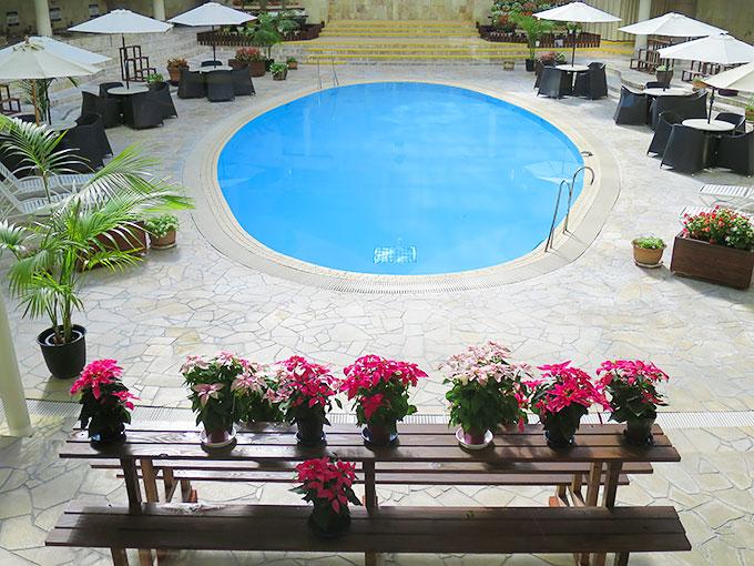 レオマの森・温水プール