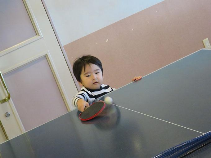 卓球に挑戦