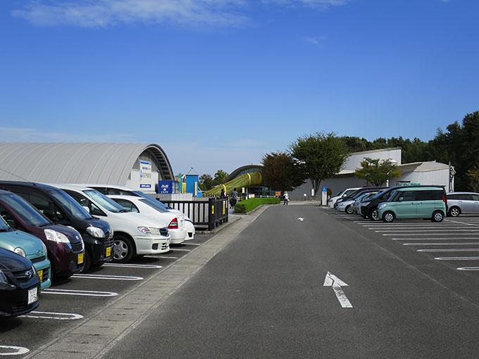 さぬきこどもの国の駐車場