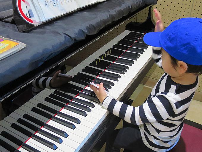 音楽工房のピアノ