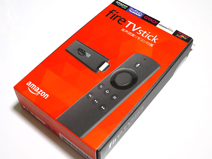 Fire TV Stick到着