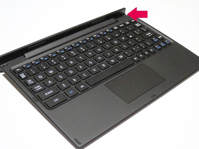 Xperia Z4 Tablet用Bluetoothキーボード