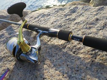 新調したロッドで釣りに行ってきました!!