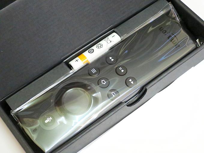 Fire TV Stick交換のリモコン