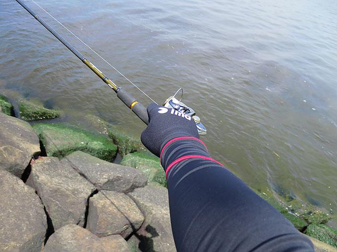 快適に釣りが出来ました