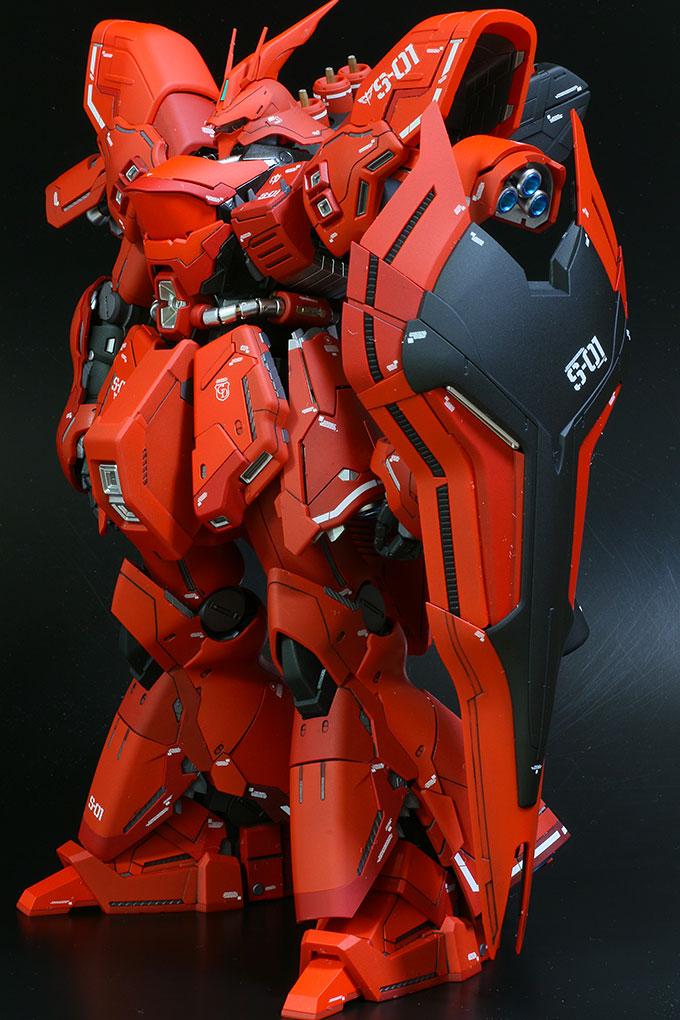 MG サザビー Ver.ka シールド装備