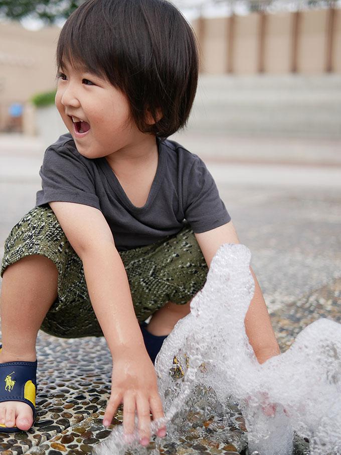 阪急西宮ガーデンズ屋上の噴水