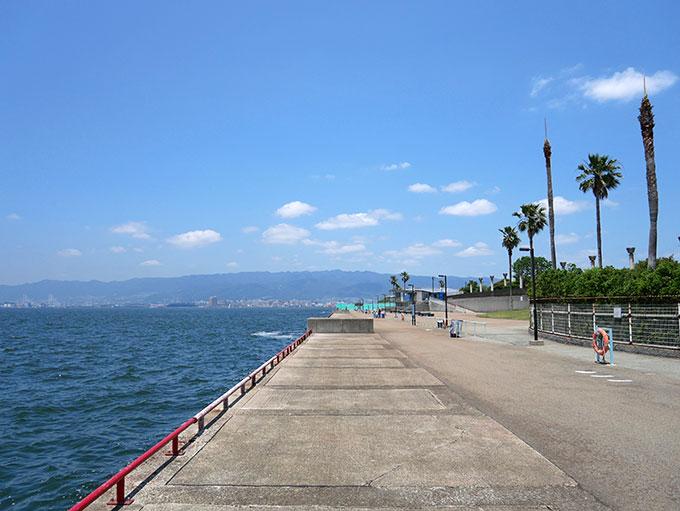 神戸方面の浮き輪