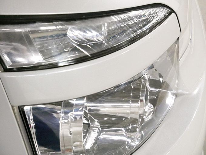 ヘッドライトの透明度が復活
