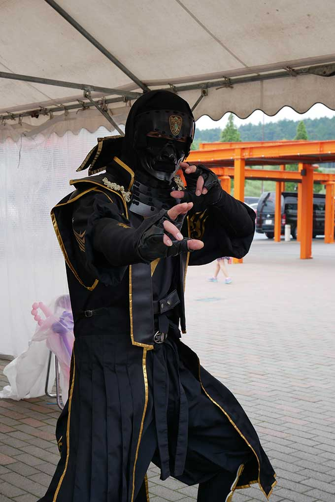 吹き矢のイベントキャラクター