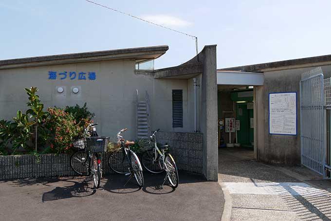 鳴尾浜の海釣り公園
