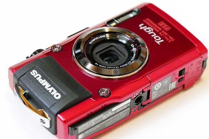 オリンパス STYLUS TG-4 Tough RED レッド