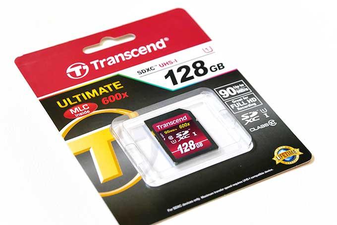 128Gのメモリーカード