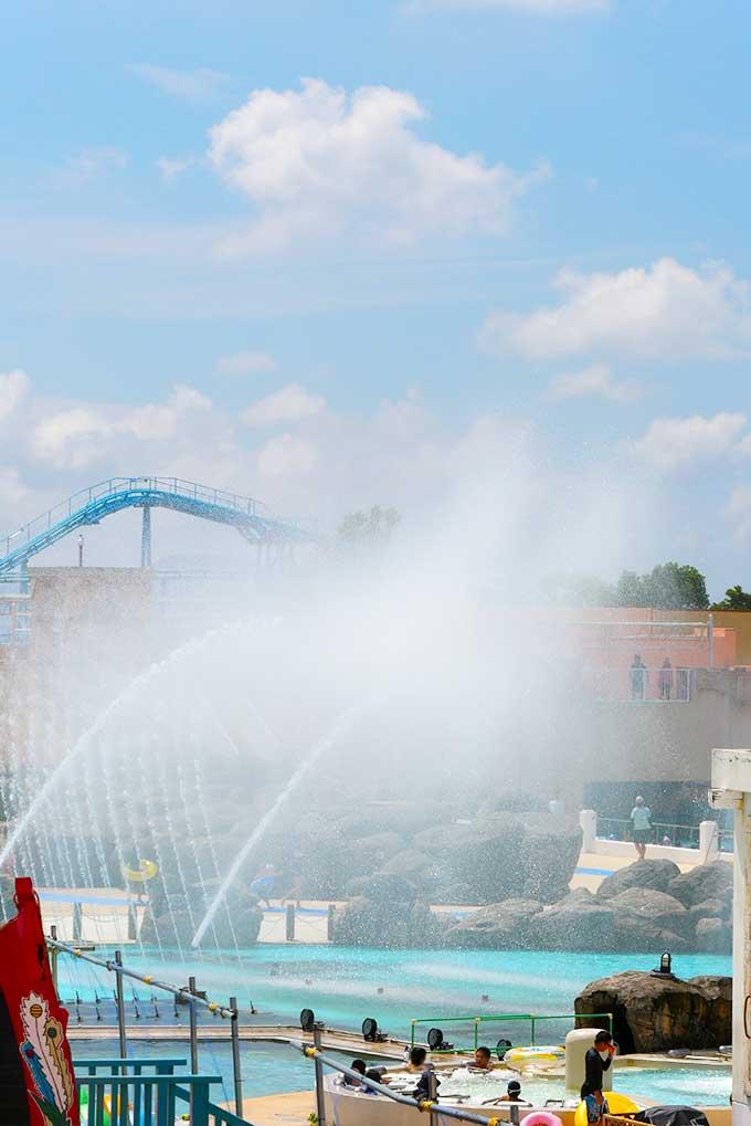 ラグナシア水のショー