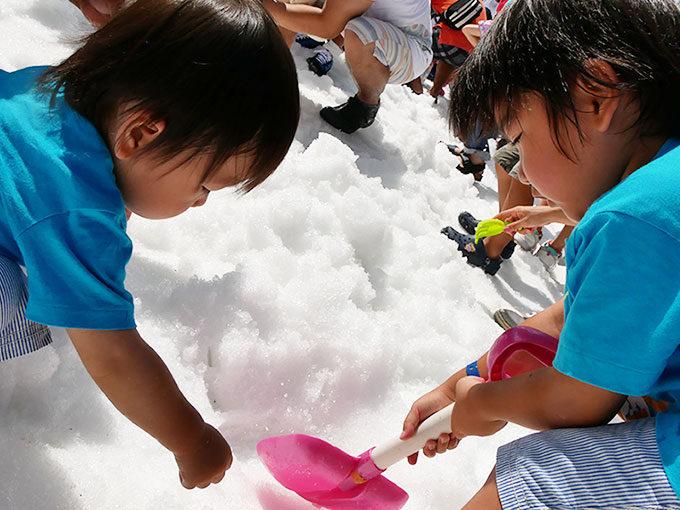 六甲山のイベント!真夏の雪まつりで宝探しのコツと必需品!!