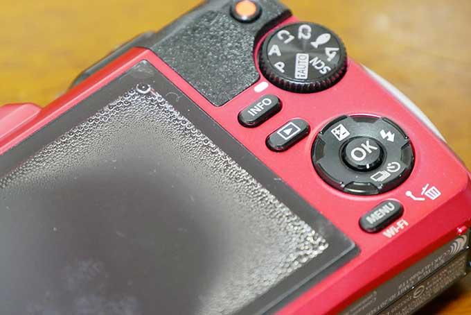 防水カメラTG-4 Toughが水没