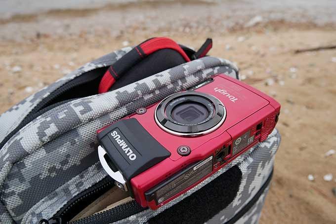 オリンパスの防水カメラ