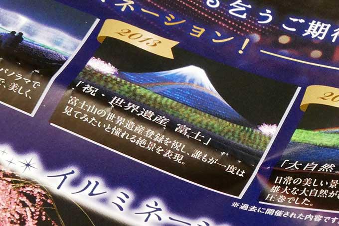 2013年・テーマ富士