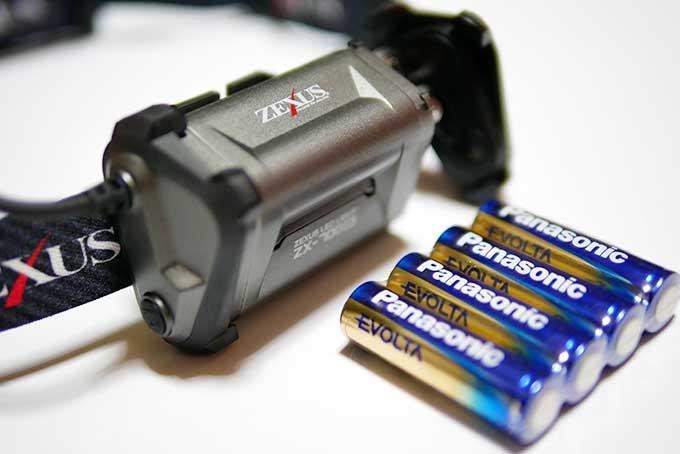 単三電池4本を準備