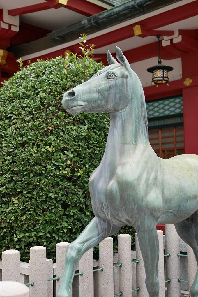 えべっさんの馬
