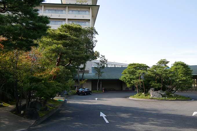 長島リゾート・ホテルナガシマに到着