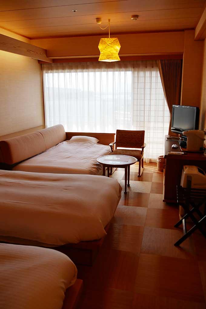 ホテルナガシマの子供が居ても安心な客室