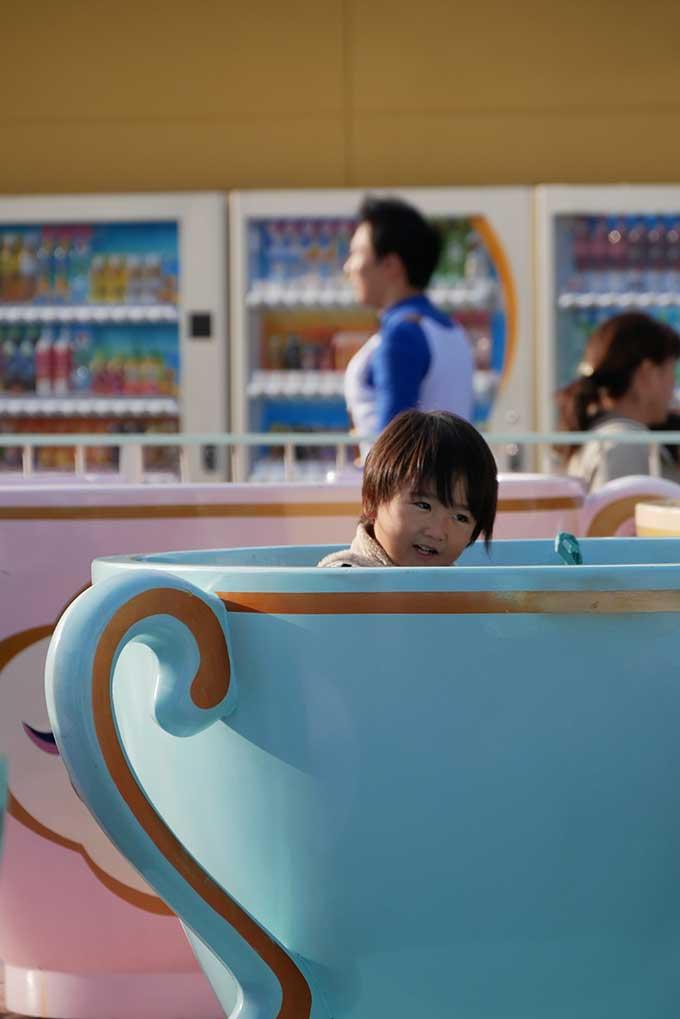 早速コーヒーカップへ