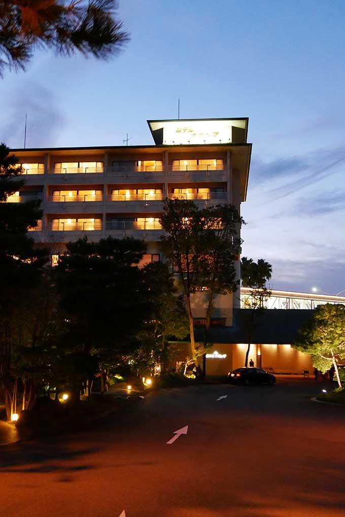 宿泊するホテルナガシマ
